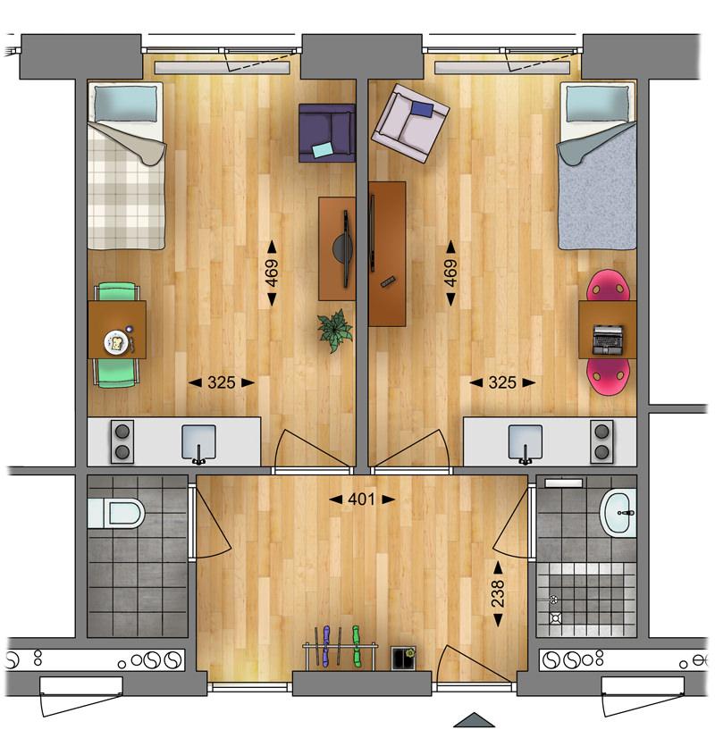 plan studio 15m2 studios plan studio 15m2 elegant cliquez ici with plan suite parentale. Black Bedroom Furniture Sets. Home Design Ideas